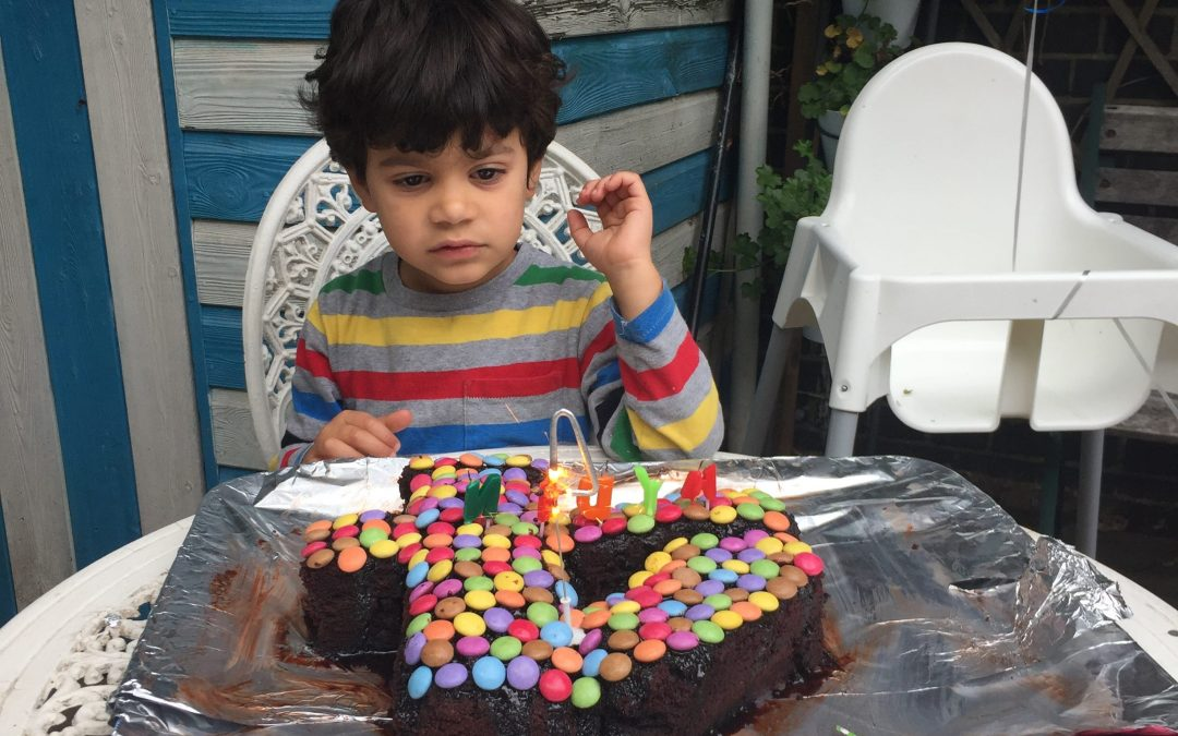 Aydin turn 4 today!